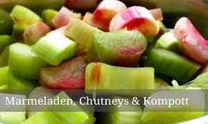 """Kategorie """"Marmeladen, Chutneys & Kompott"""""""