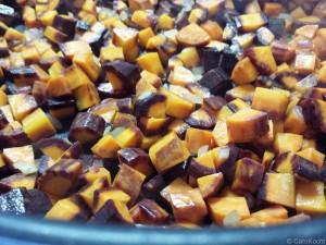 Karottenanbraten